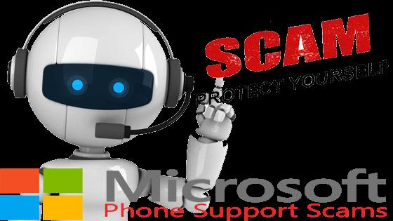 Microsoft fake calls!