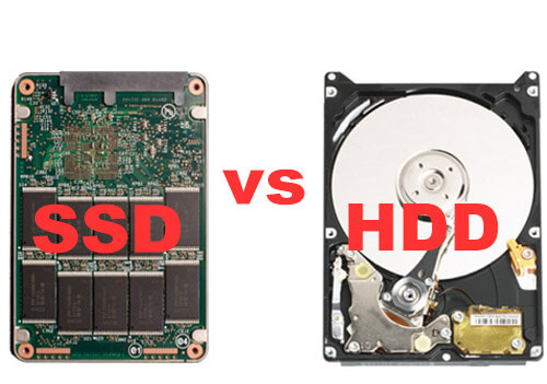 Solid State Drive VS  Hard Drive